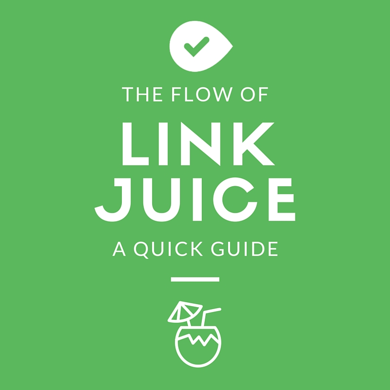 A quick guide to the flow of link juice